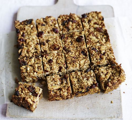 Flapjack made with oats - Gluten Free & Vegan
